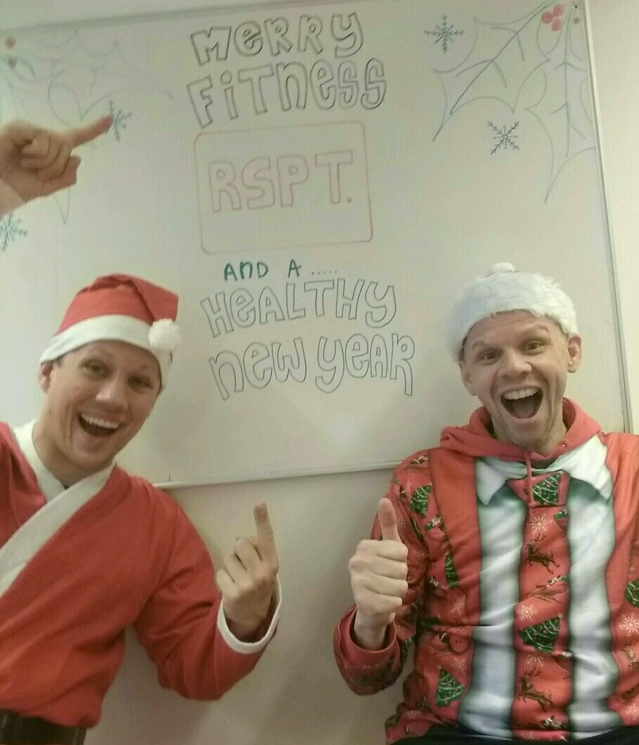 Doe ,mee met onze Kerst work-out tijdens de feestdagen